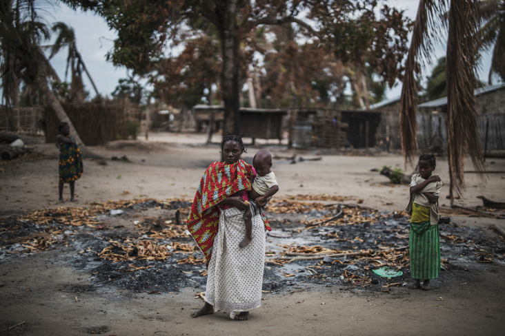 USAID is providing humanitarian assistance to conflict-affected communities in Mozambique.