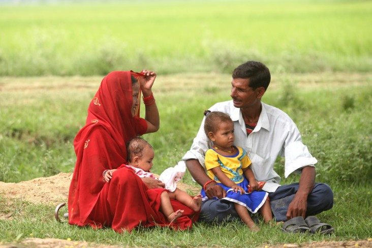 USAID's Suaahara project not only engages young mothers, but also fathers and other men of the family.