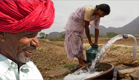 Indian agriculture depends heavily on groundwater, which must be extracted with electric pumps.