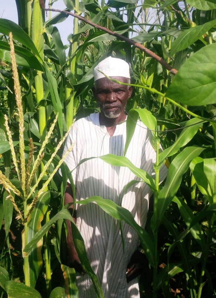 "Garba Abdullahi, a farmer from the town of Fufore, says, ""These seeds helped me start my life again."""