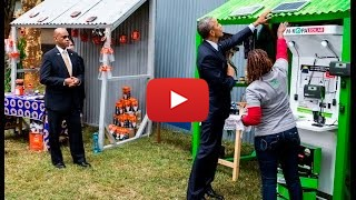 POTUS visits the Power Africa Innovation Fair