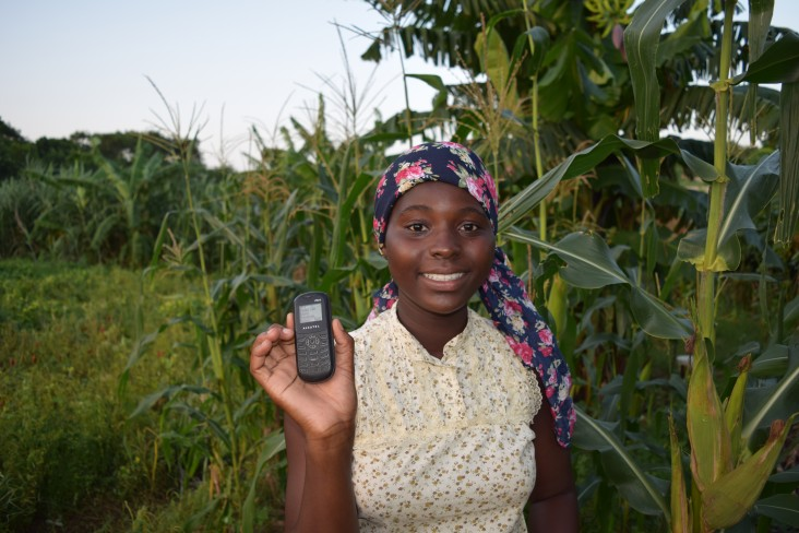 Ignitia Ghana AB uses a location-specific, short-message-service (SMS) system called Iska to inform farmers about weather patterns.