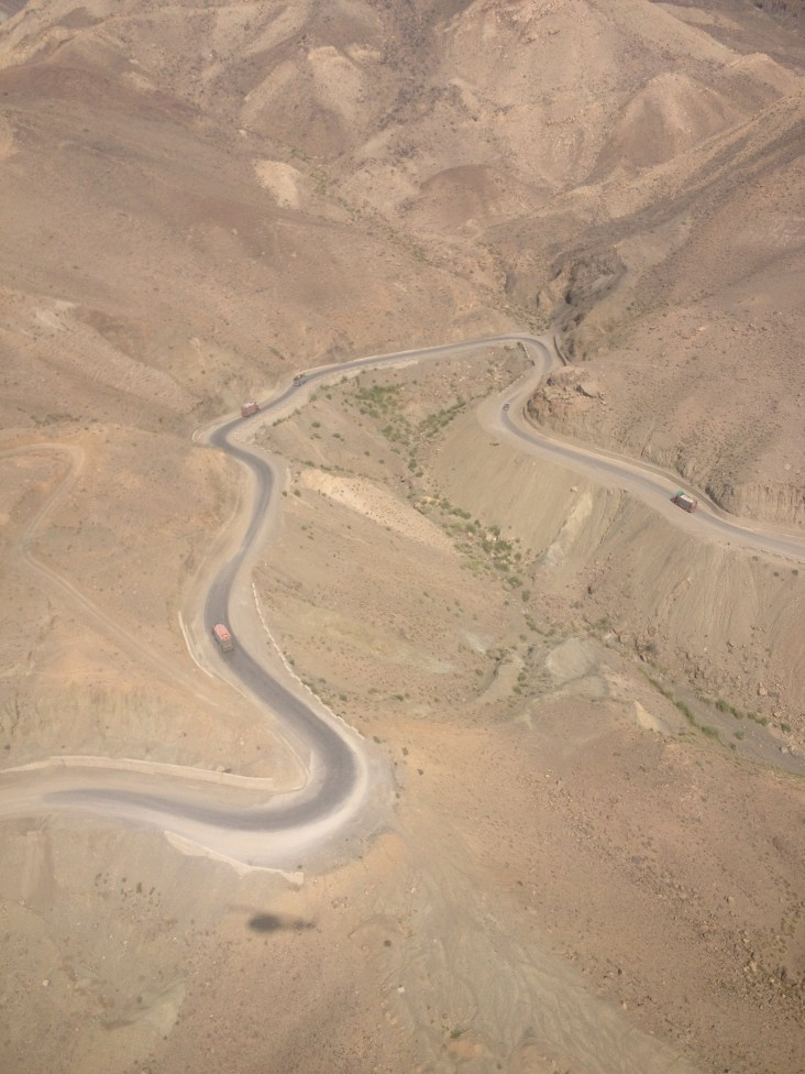 USAID-funded roads in South Waziristan