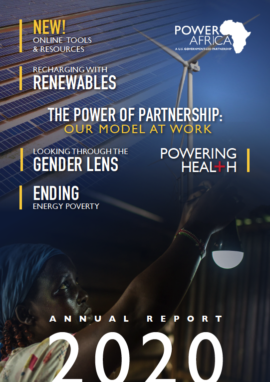 Power Africa Annual Report 2020 Cover