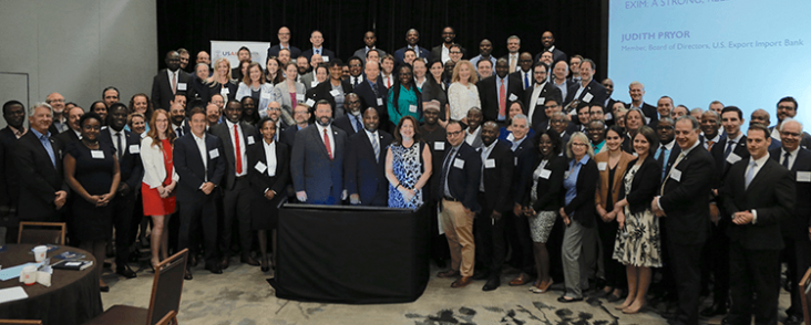 A group photo taken at Power Africa's Partners Day 2020