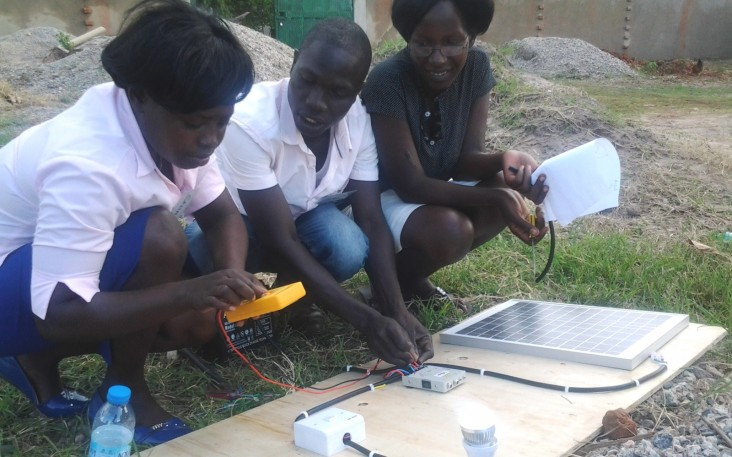 Village Energy trains new solar technicians.
