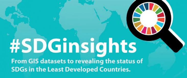 #SDGinsights. From GIS datasets to revealing the status of SDGs in the Least Developed Countries
