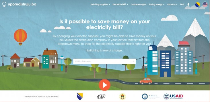 Bosnia Launches USAID-developed Electricity Price Comparison Tool so Households and Small Businesses Can Choose Suppliers – and Save