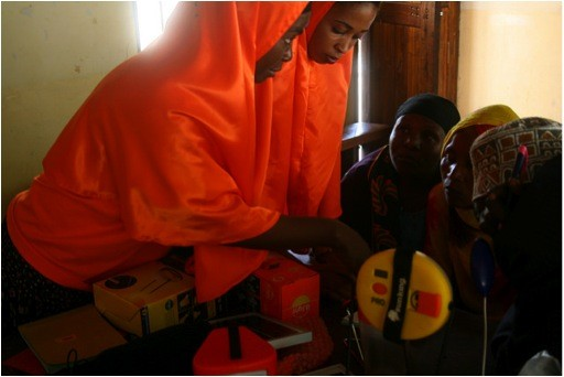 Solar Sister recruits, trains and supports a women driven clean energy network in Africa. Image: -Solar Sister, 2014