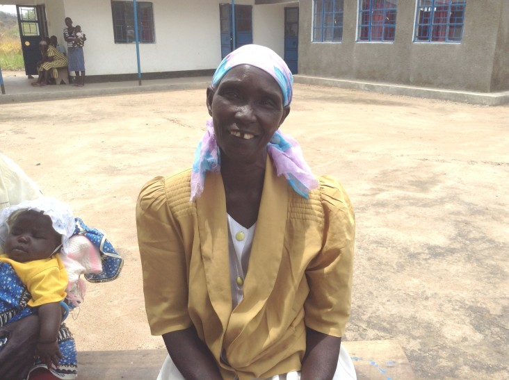 Wilma Avowa is a volunteer home health provider at the Lanyi Primary Health Care Clinic in South Sudan.