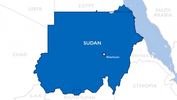 OTI Sudan Map