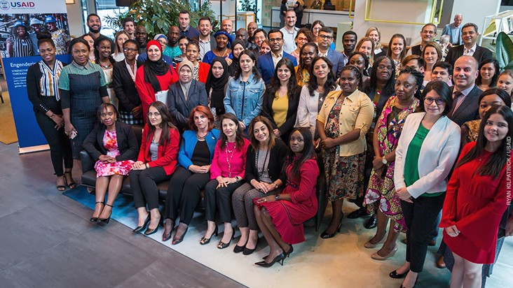 More than 50 representatives from 17 power utilities in 14 countries convened in Amsterdam for the Engendering Utilities Gender Equity Executive Leadership Program in July 2019.