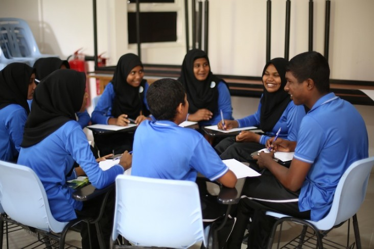 Youth discuss how to identify and address community issues