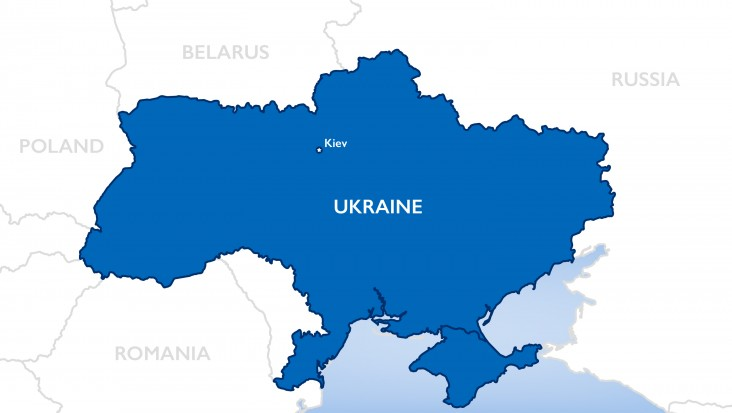 Ukraine Map OTI