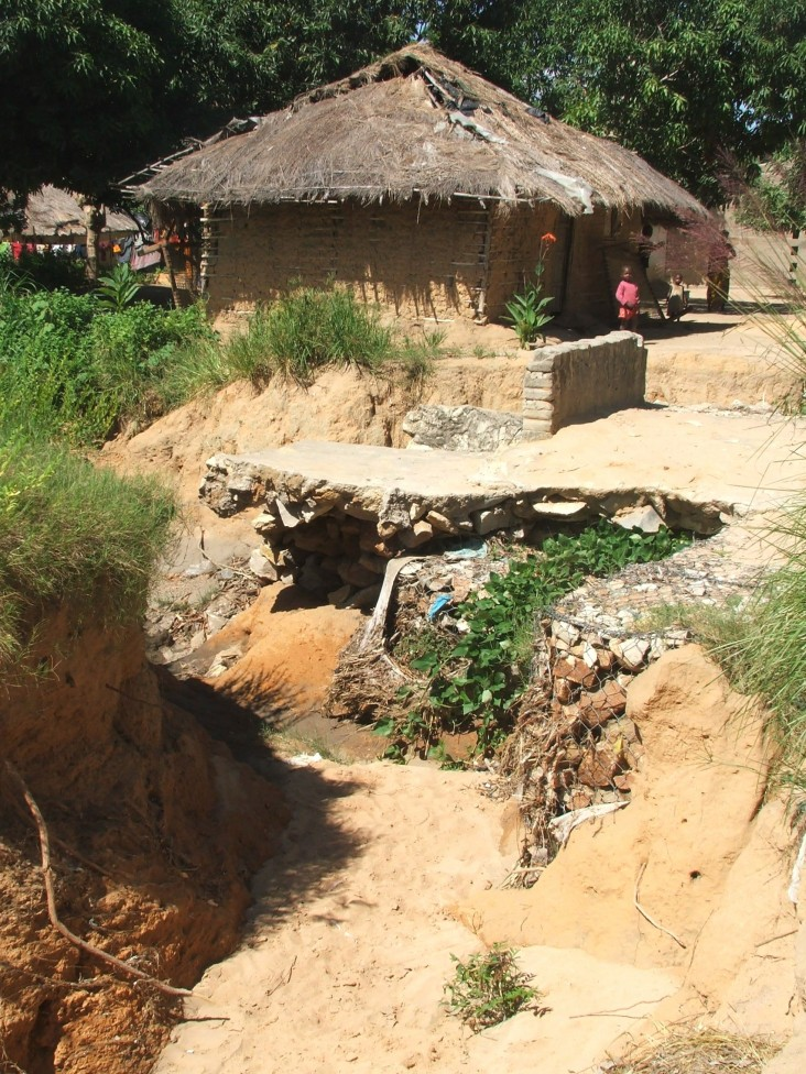 Severe erosion in Nacala.
