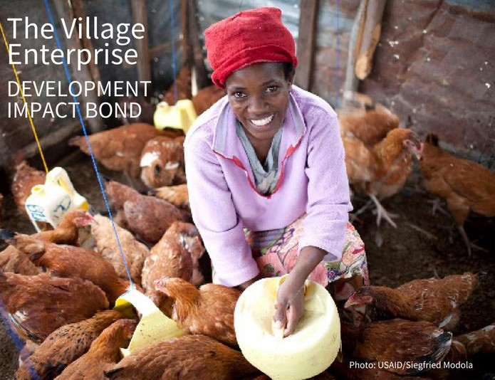 The Village Enterprise Development Impact Bond.  Photo: USAID/Siegfried Modola