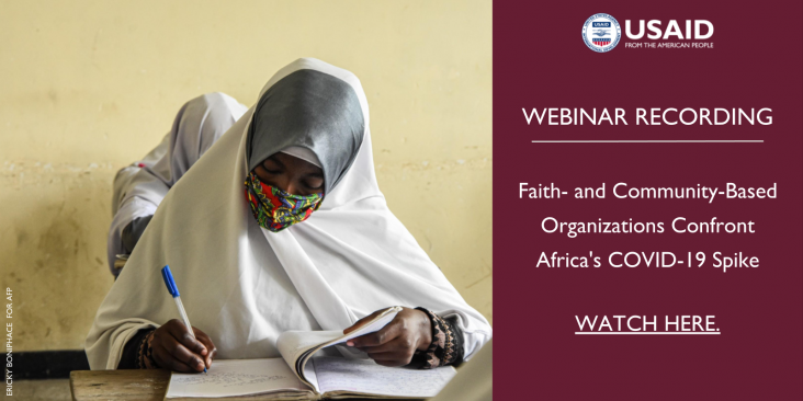 Webinar Recording of CFOI's August 6th Virtual Event on FBOs, Africa, and COVID-19