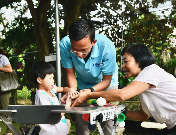 USAID Supports Rehabilitation Services in Binh Phuoc Province.