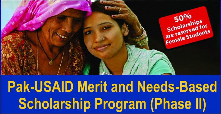 The Pak-USAID Merit and Needs based Scholarship Program Phase-II