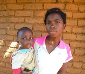 Sixteen-year-old Catherine has become an inspiration to other young mothers to re-enroll in school.
