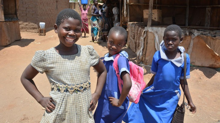 The USAID-supported ASPIRE project in Malawi works to ensure young girls are educated.