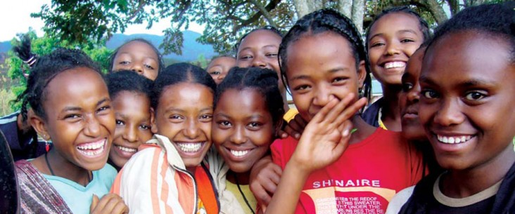 Photo of young girls