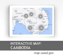 Interactive Map: Cambodia map.usaid.gov