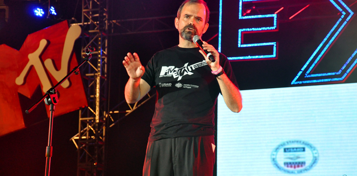 USAID, MTV EXIT concert series in Vietnam, 2010