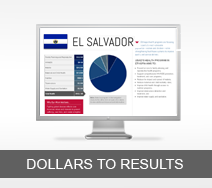Dollars to Results tout - El Salvador
