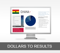 Dollars to Results tout - Ghana