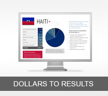 Dollars to Results tout - Haiti