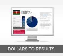 Dollars to Results tout - Kenya