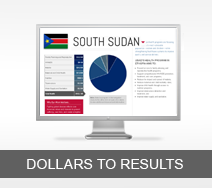Dollars to Results tout - South Sudan