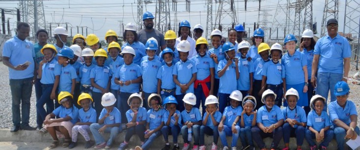 Thirty-five girls from ages 7 to 13 join EKEDP managers and engineers for Bring Your Daughter to Work Day.