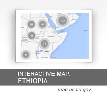 Interactive Map: Ethiopia map.usaid.gov