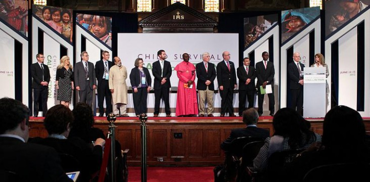 Faith-based and community leaders gather to announce a global, multi-religious commitment to adopt and promote 10 behaviors