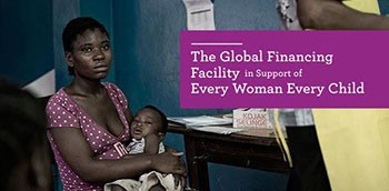 A woman holds her baby. The Global Finance Facility in support of Every Woman Every Child