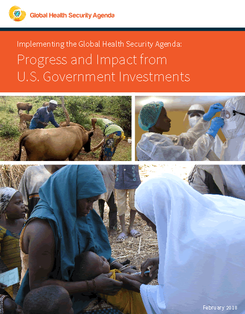 Global Health Security Agenda - 2017 Annual Report to Congress