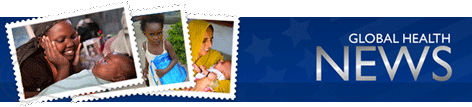 Photos set into stamps of mothers and children