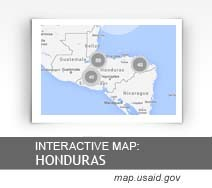 Interactive Map:  Honduras map.usaid.gov