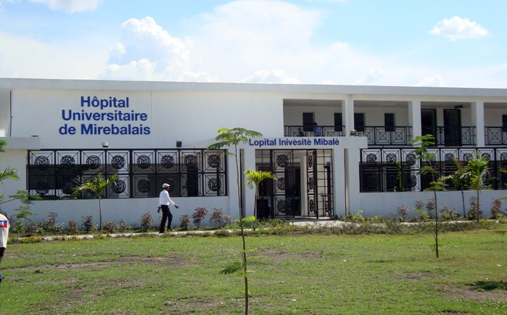 Mirebalais University Hospital is the primary health care provider for 185,000 people in Mirebalais and two adjoining communitie
