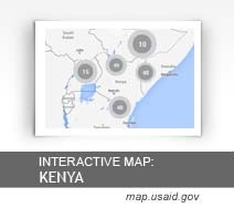 Interactive Map: Kenya map.usaid.gov