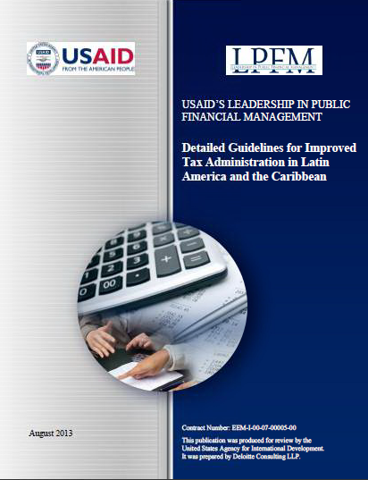 Cover Image - Detailed Guidelines for Improved Tax Administration  in Latin America and the Caribbean