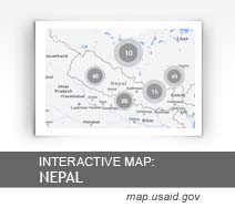 Interactive Map: Nepal map.usaid.gov