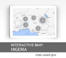 Interactive Map: Nigeria map.usaid.gov