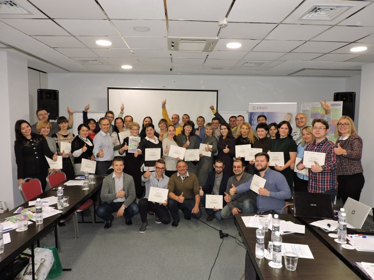 The course on the new classification for primary health care turned 45 doctors, including Dr. Oksana Lobortas into trainers who could share their ICPC expertise with colleagues in the regions.