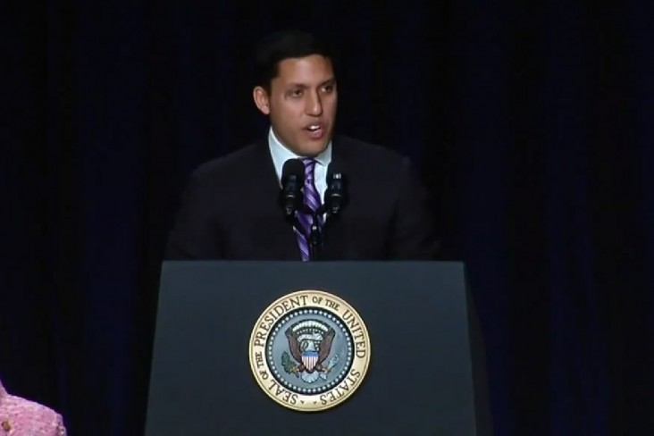Administrator Rajiv Shah delivers remarks at the National Prayer Breakfast, February 6, 2014.  - Click to view video