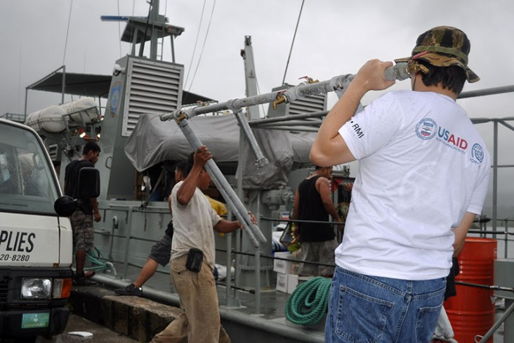 Assistance for Typhoon Maysak Victims in the Federated States of Micronesia