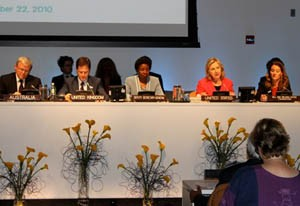 Photo of a Panel at the UNGA Summit
