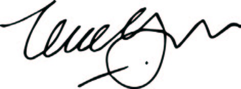 Signature: USAID Administrator Mark Green